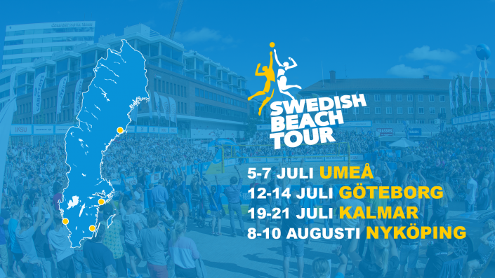 Swedish beach tour 2019
